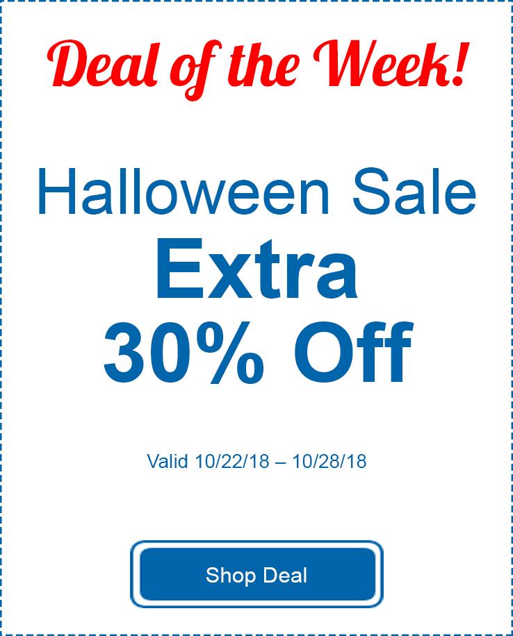 Extra 30% Off Halloween