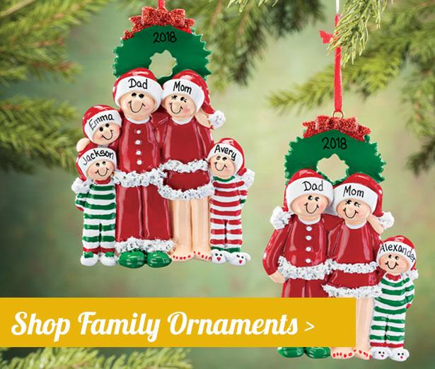 Family Ornaments