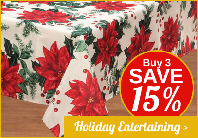 Holiday Entertaining - Buy 3, Save 15%