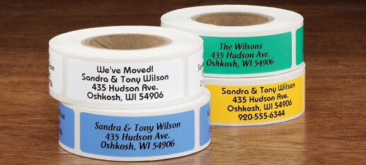 $1 Off Address Labels