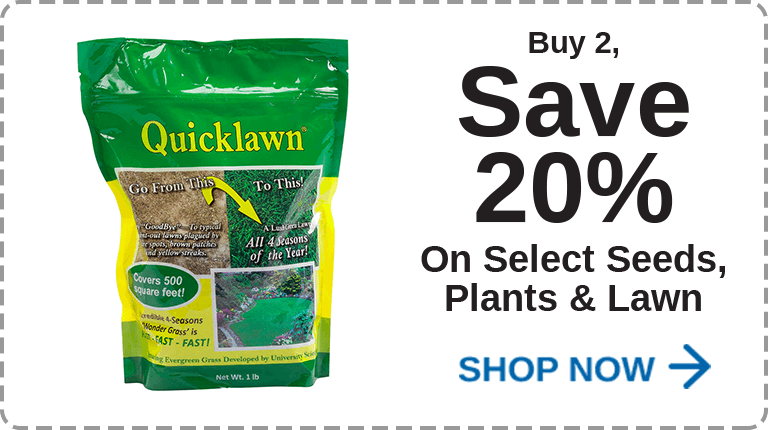 Seeds, Plants, Lawn Care