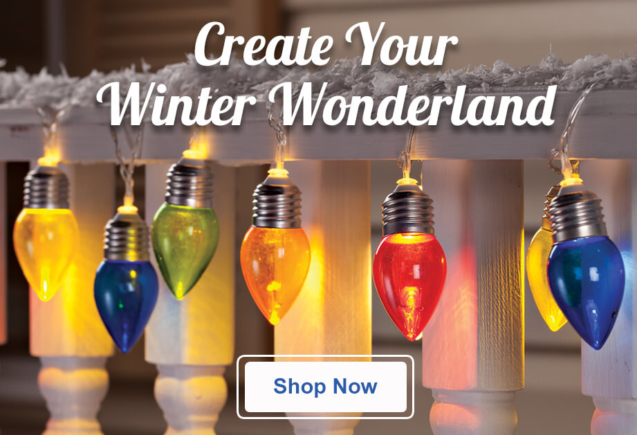 Create Your Winter Wonderland