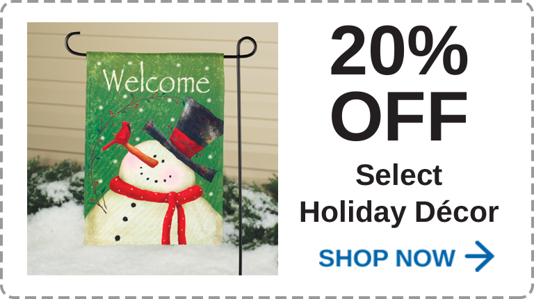 Holiday Décor 20% Off