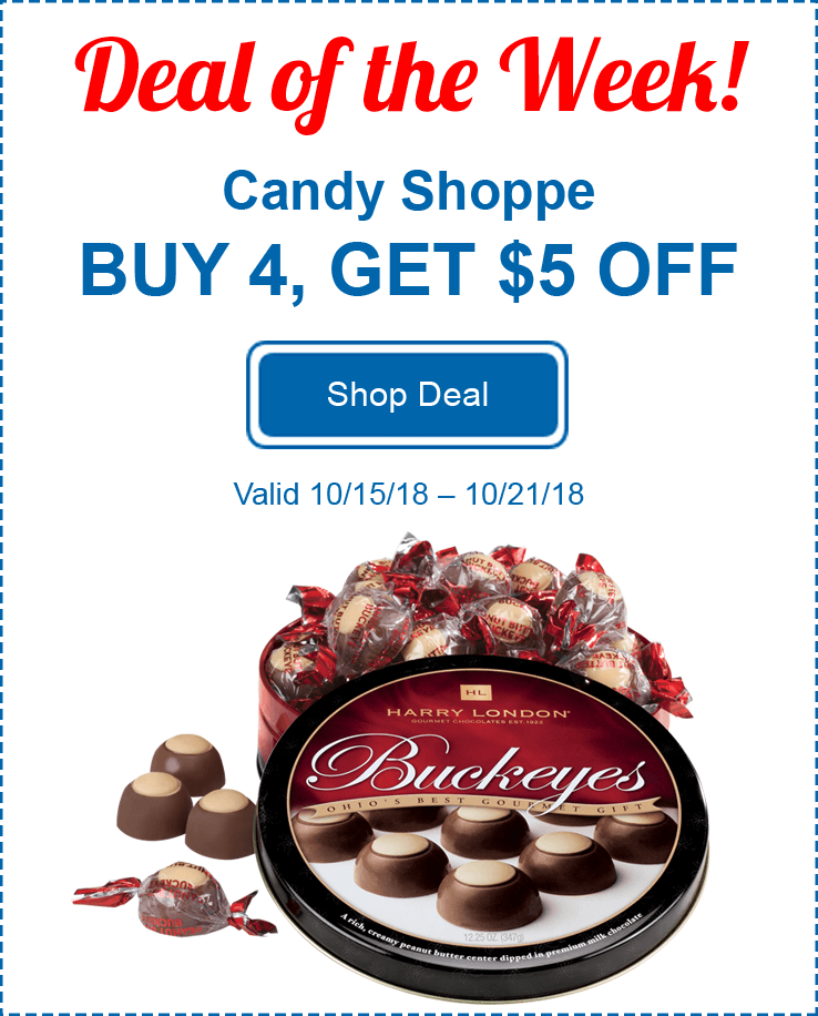 Candy Buy 4 Save $5