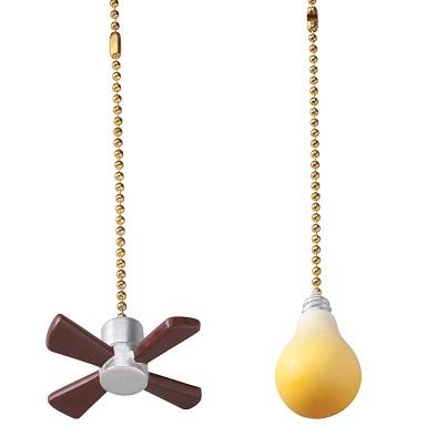 353982 Fan & Light Pulls, Set of 2