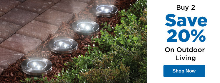 Outdoor Living Buy 2 Save 20%