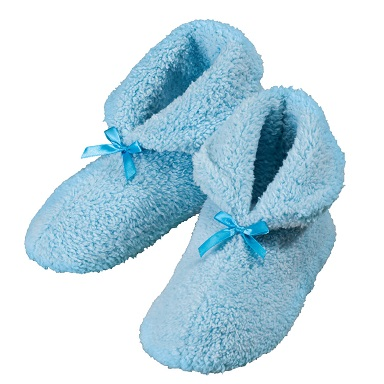 Chenille Slippers