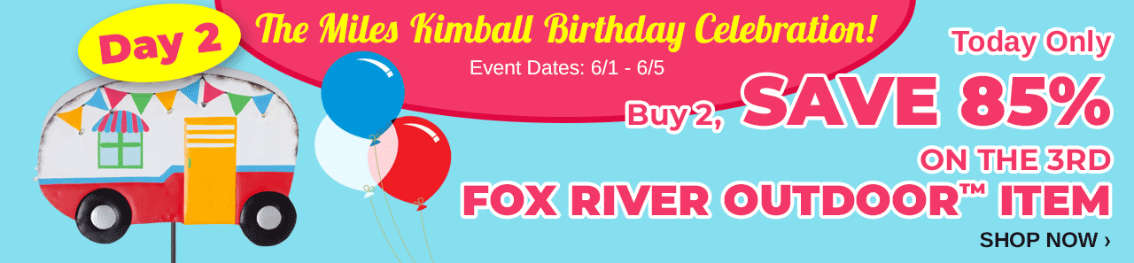 MK Bday Day 2 Fox River Creations