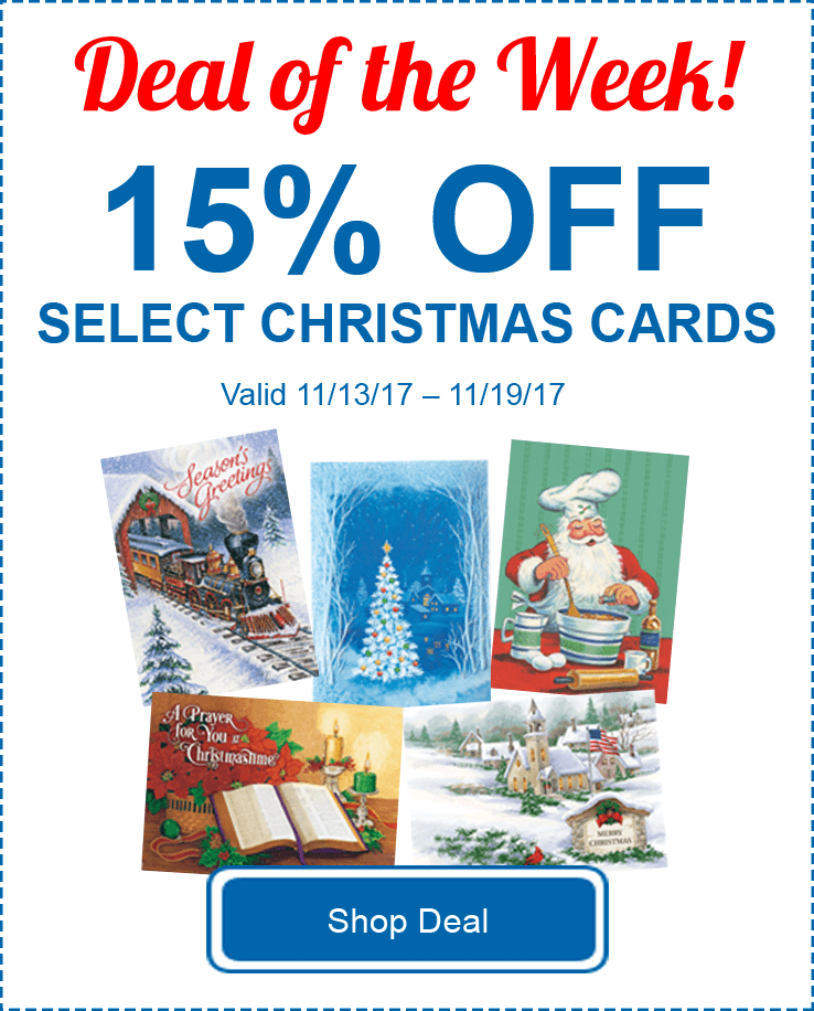 15% Off Select Cards
