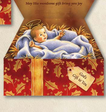 Gods Gift to You Non-Personalized Card Set of 25 - View 4