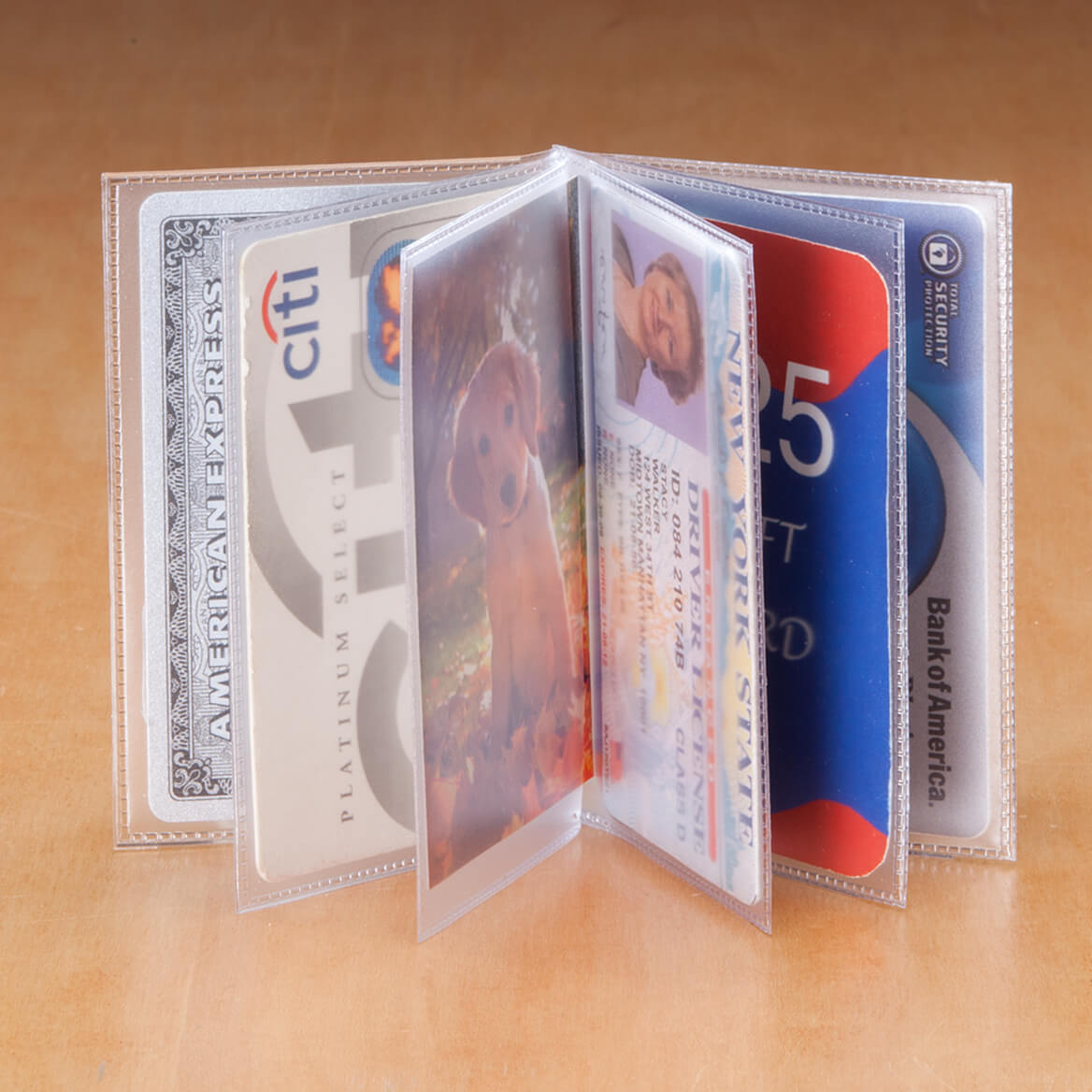 Plastic Wallet Inserts-303322