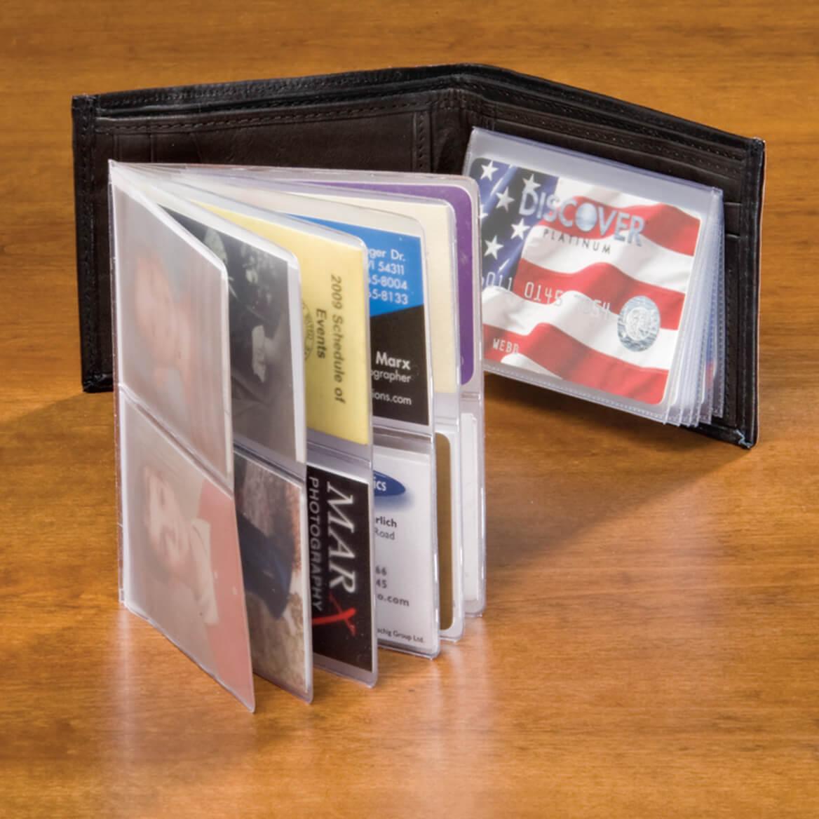 Plastic Wallet Insert - 6 Sleeve