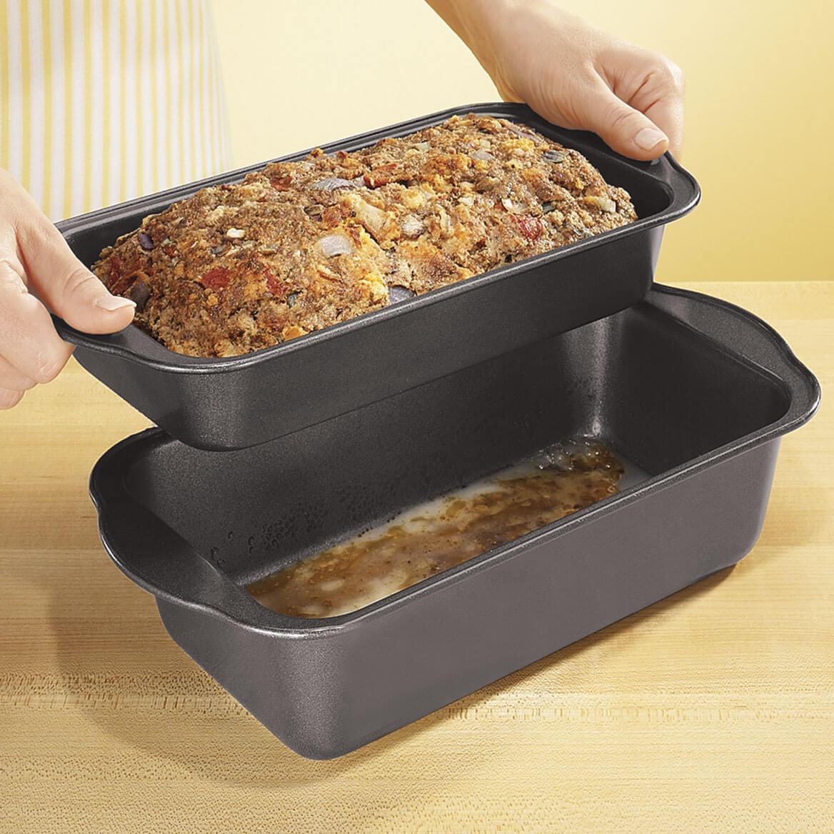 2 Pc. Lowfat Nonstick Meatloaf Pan-305008