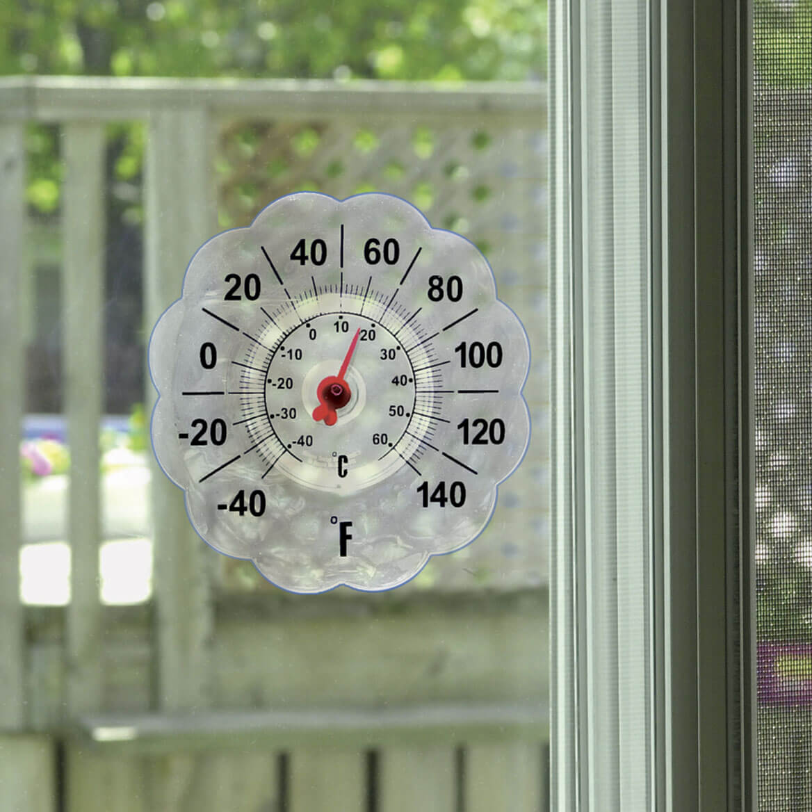 Suction Cup Window Thermometer - Window Thermometer - Miles Kimball