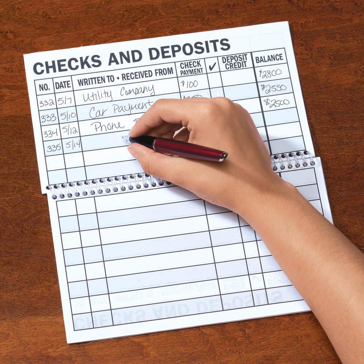 Large Print Check Register-306558