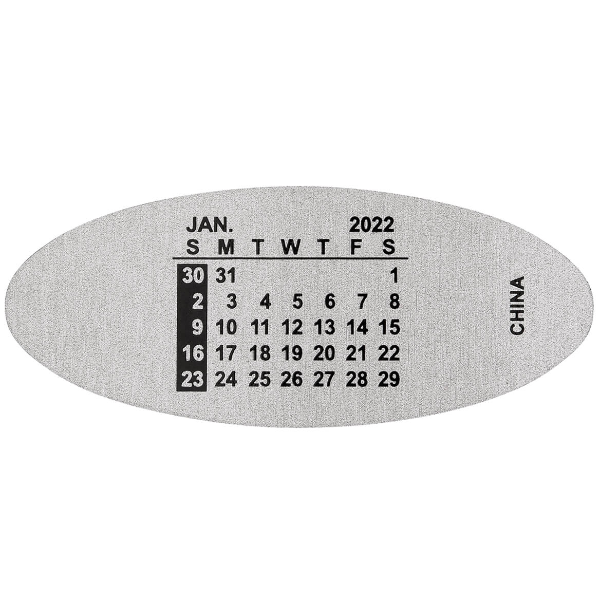 Watchband Calendar Plates-309930