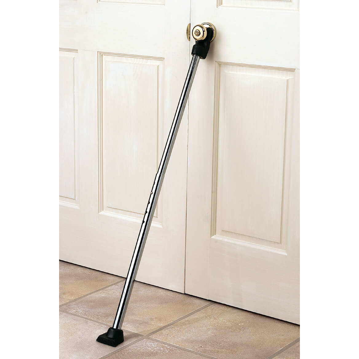 Details About Door Security Bar Home Brace House Strong Portable Safety Lock Apartment