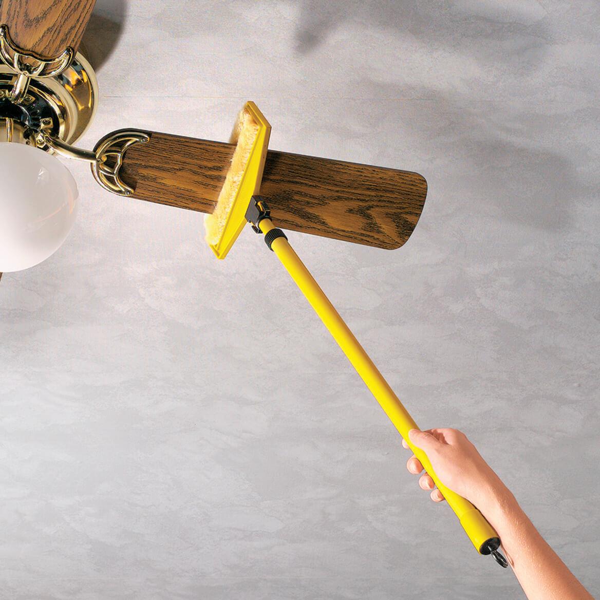 Ceiling fan duster ceiling fan cleaning tool miles kimball ceiling fan duster aloadofball Images