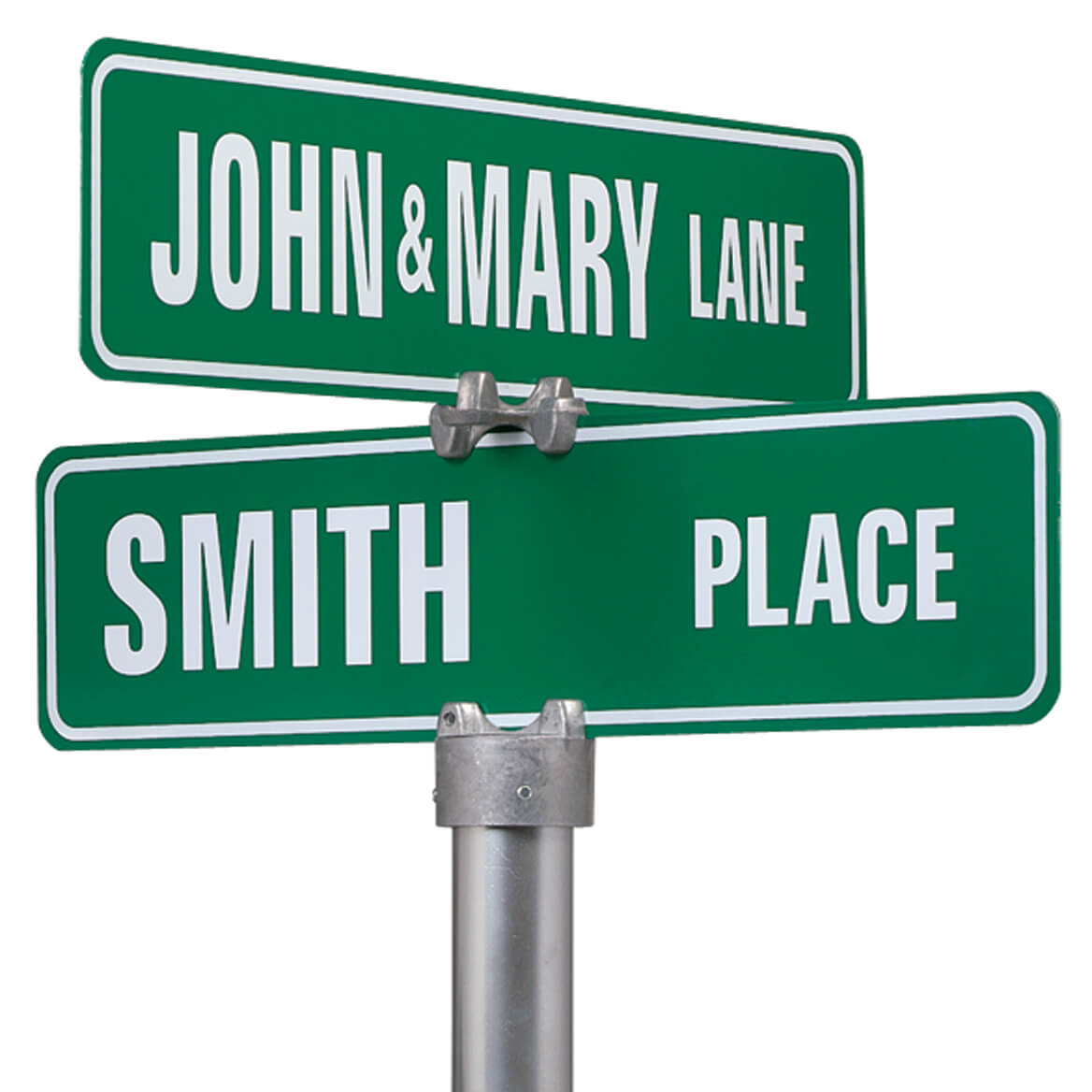 Personalized Two Sided Street Sign - Custom Street Signs - Miles Kimball