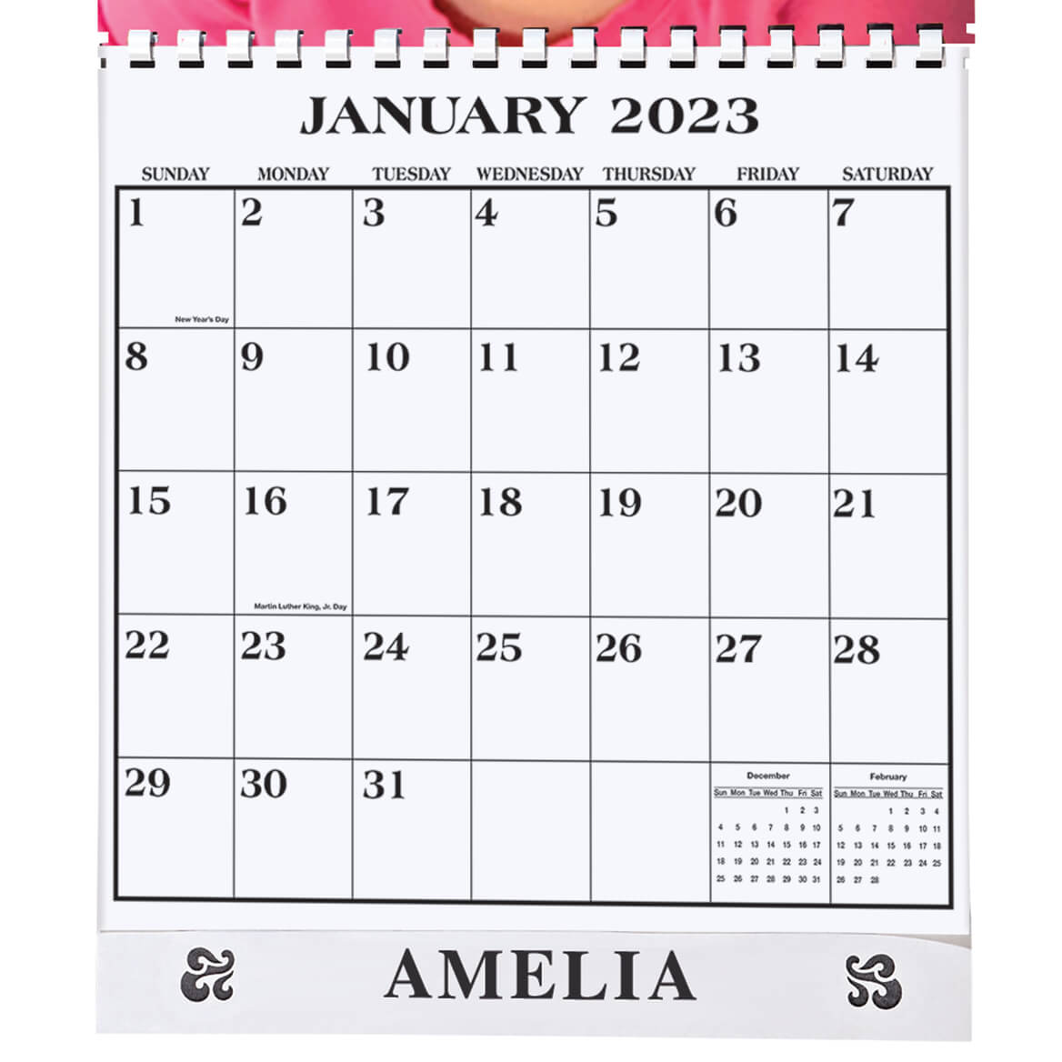 Personalized Photo Calendar Single Copy-310914