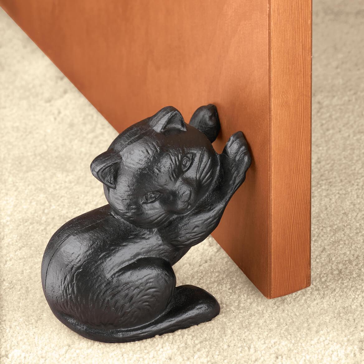 Incroyable Cast Iron Cat Doorstop