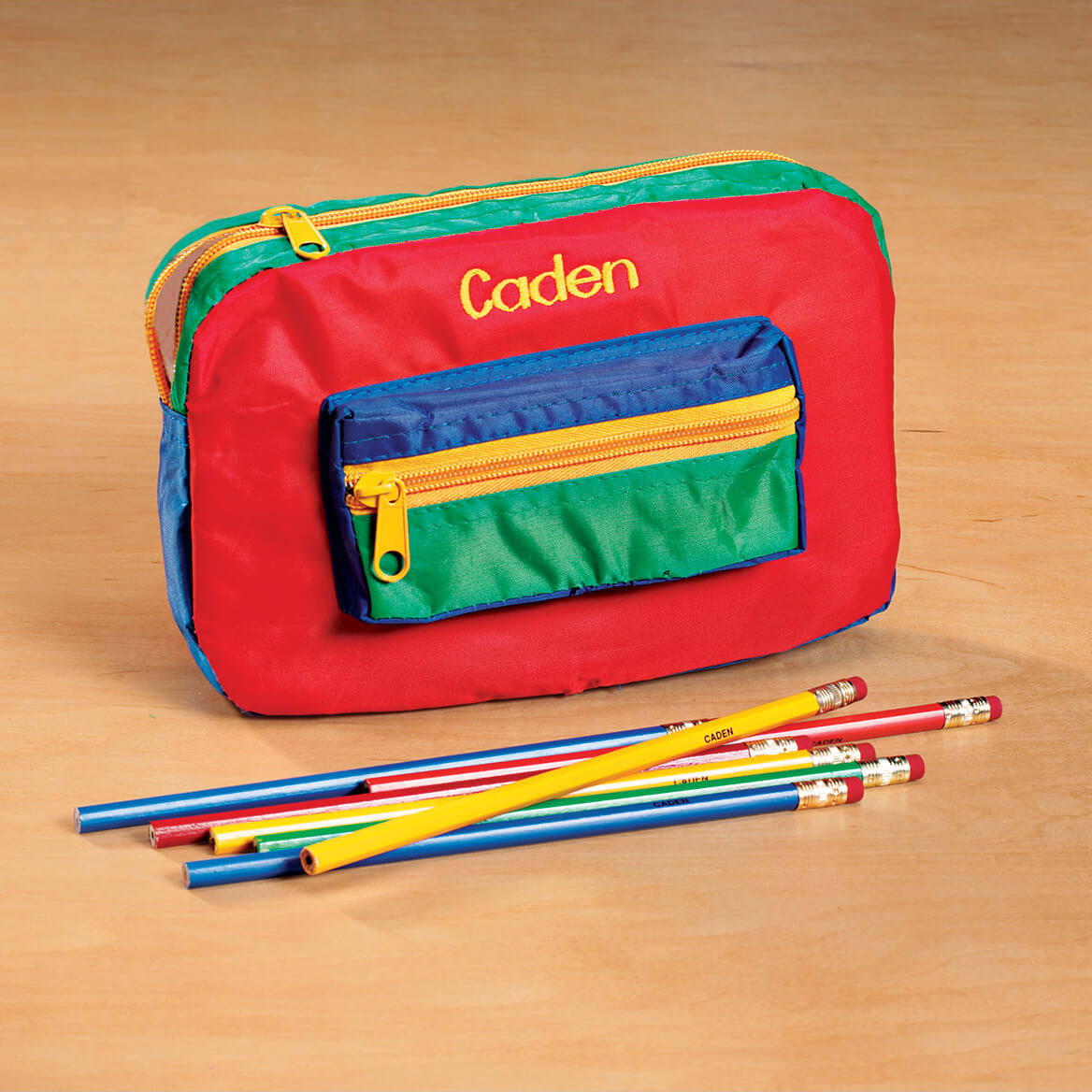 personalized pencil pouch custom pencil pouch miles kimball