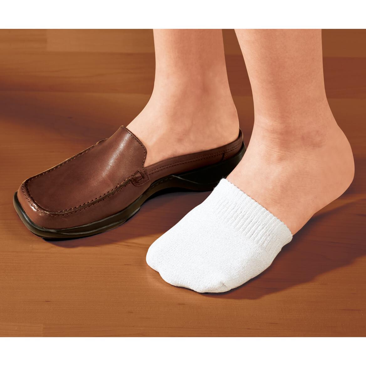 Toe Half Socks 2 Pair - White-311438
