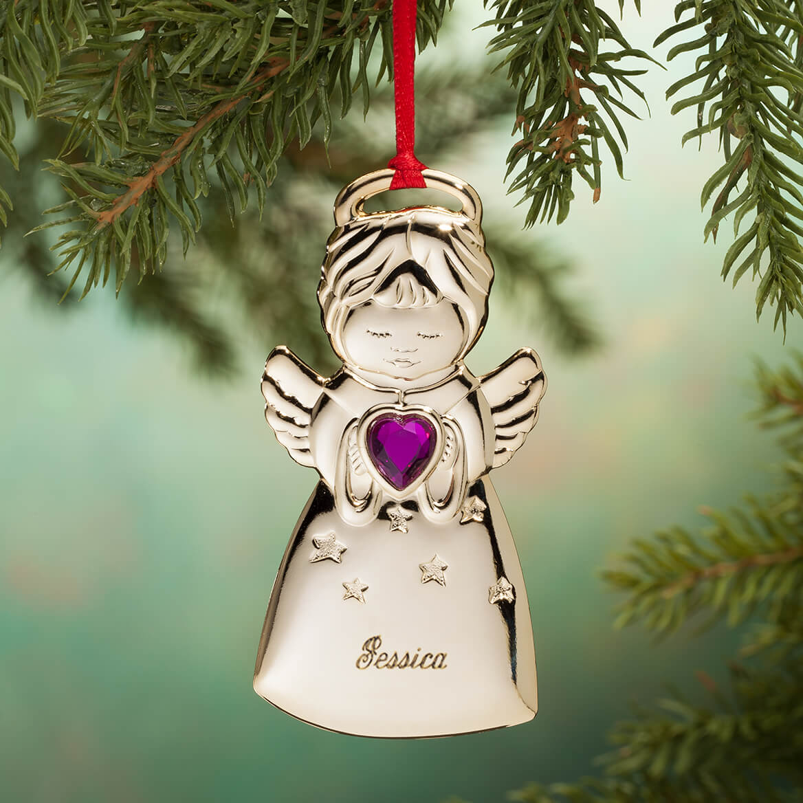 Personalized Angel Christmas Ornament-311519