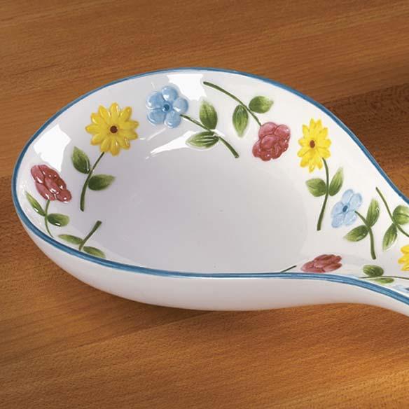 Personalized Flower Spoon Rest-311557