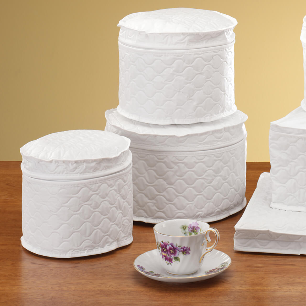 Attrayant Select Quantity   +. Saved To Wishlist Save To Wishlist Add To Cart.  Description: Protect Your China With Dinnerware Storage Cases.