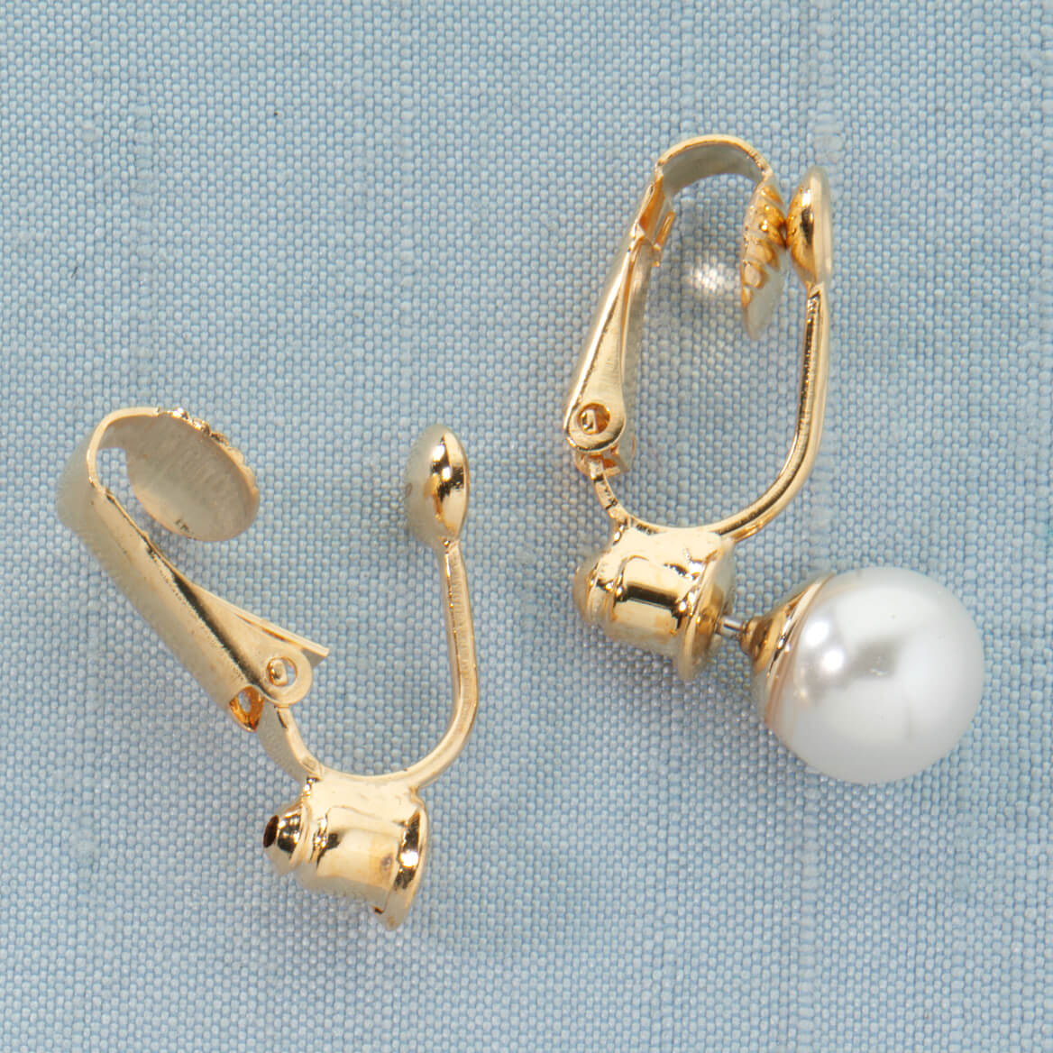 Clip On Earrings Converter - 6 Pair-312116