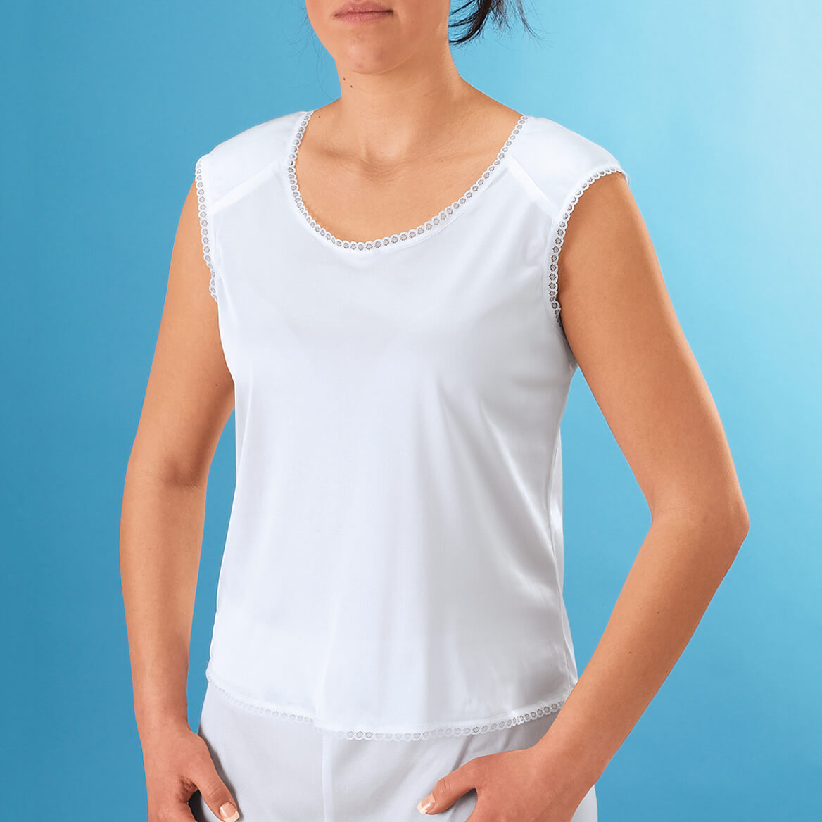 Camisole With Shoulder Pads Padded Camisole Miles Kimball