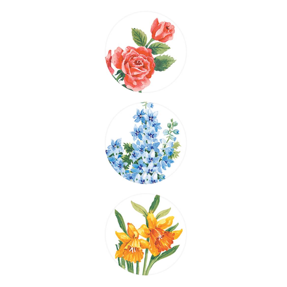 Floral Address Labels & Seals - 250-312894