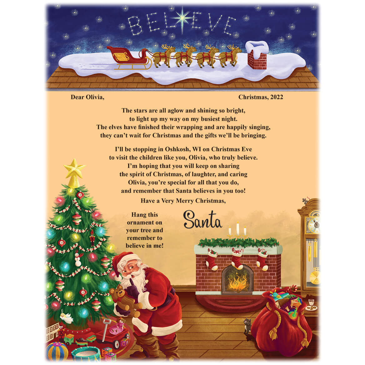 select quantity saved to wishlist save to wishlist add to cart description this letter from santa to child
