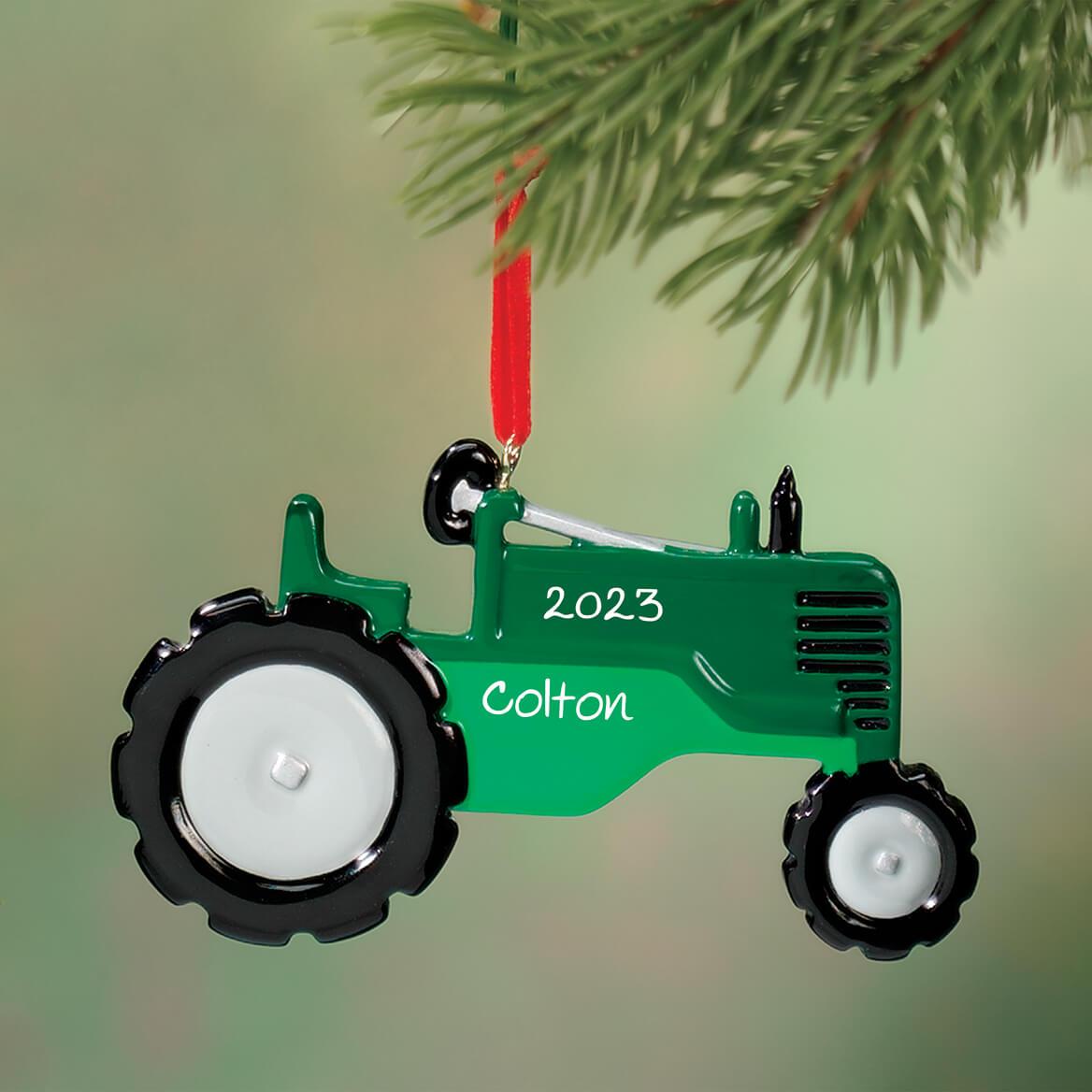 Personalized Tractor Ornament-316697
