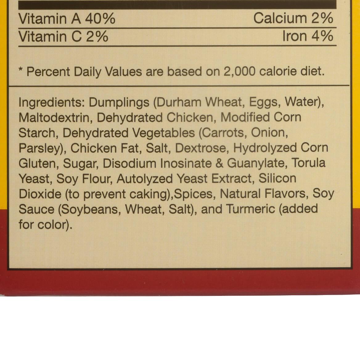 Chicken Dumpling Soup Mix-321053
