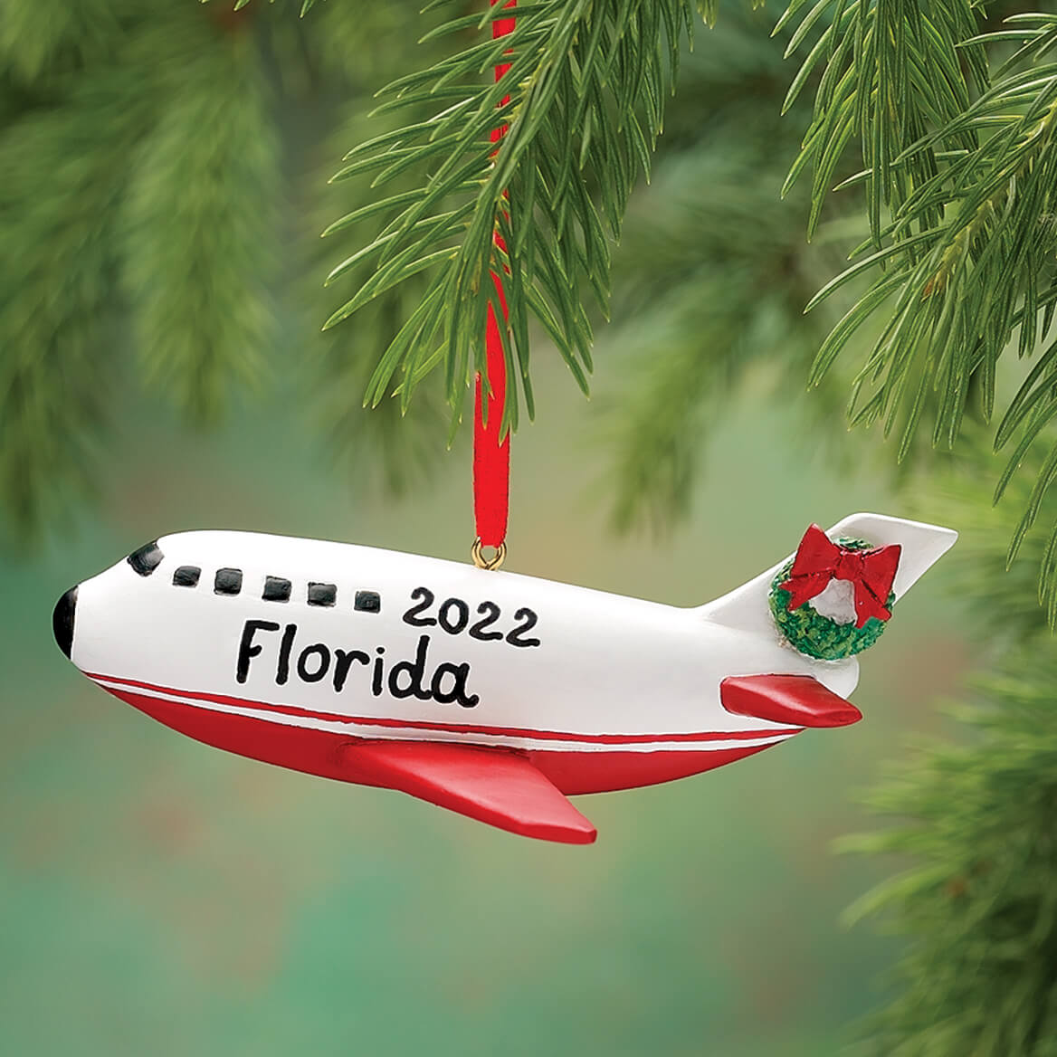 another chance 31398 7f2c0 Personalized Airplane Ornament