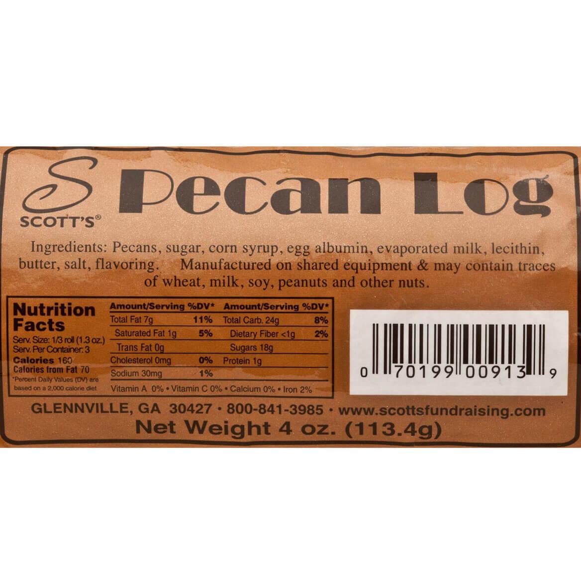 Pecan Log Roll 4 oz-327206