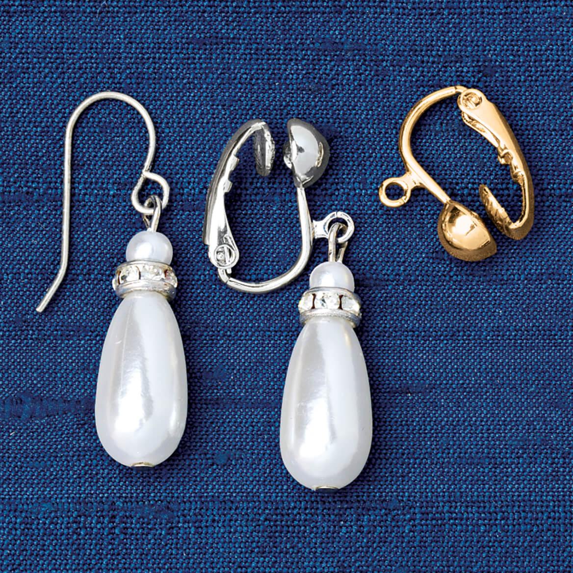 Fish Hook Earring Converter Earring Converters Miles Kimball