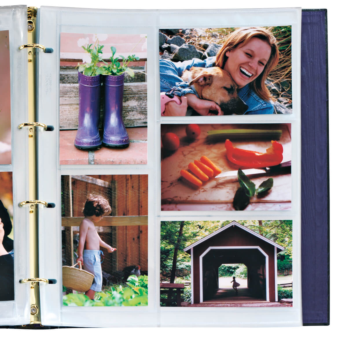 Oversize Album Pages 4x6, 10 Per Page 4 Ring-333016