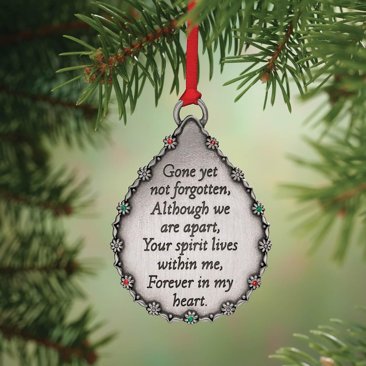 Personalized Teardrop Memorial Ornament-334882