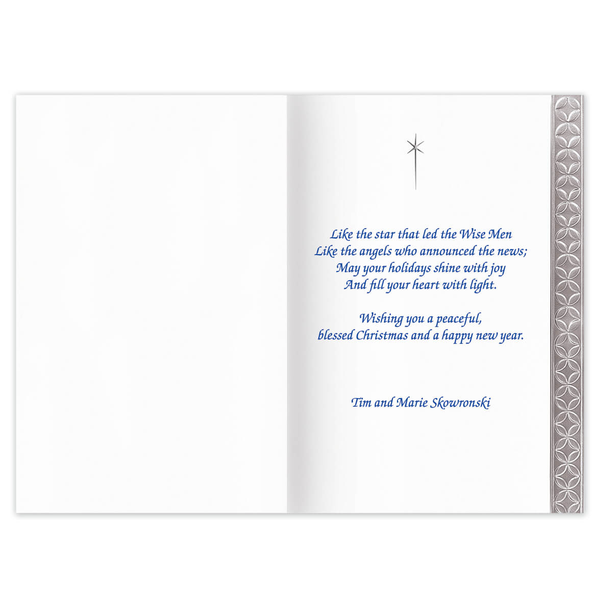 Silver Nativity Card Set of 20-336958