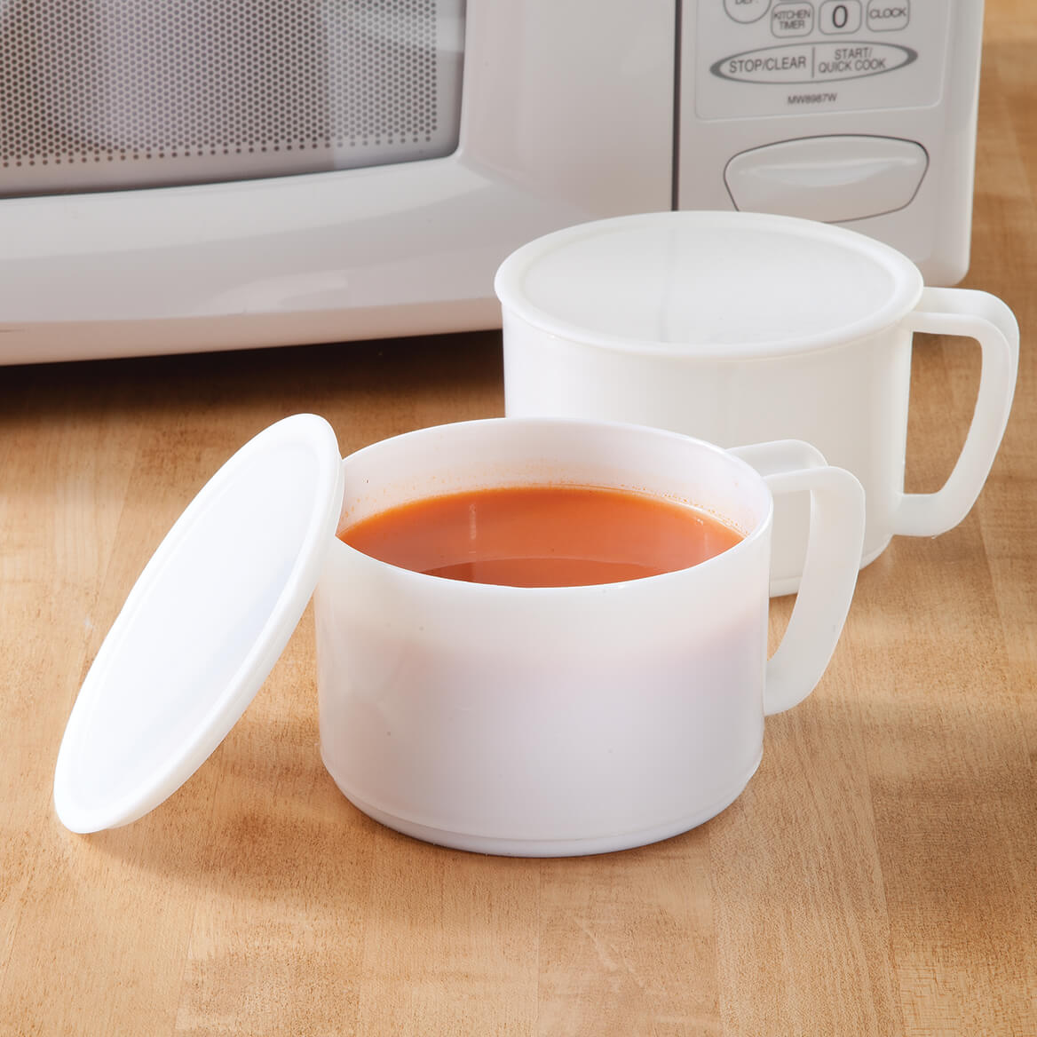 Microwavable Bowls With Lids