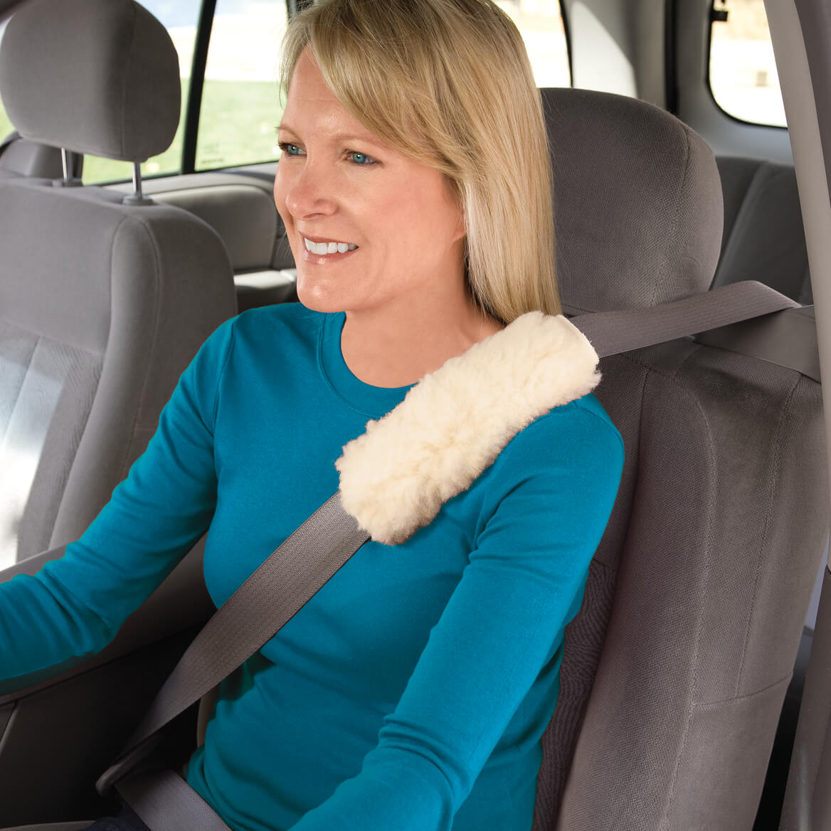 Sherpa Seat Belt Covers, Set of 2-337136