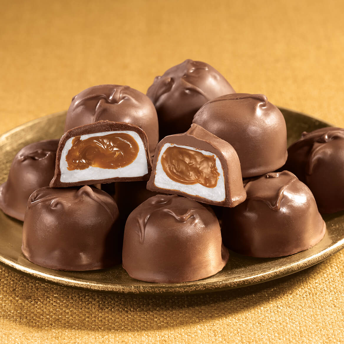 Sugar Free Milk Chocolate Caramel Marshmallows 10oz-340366
