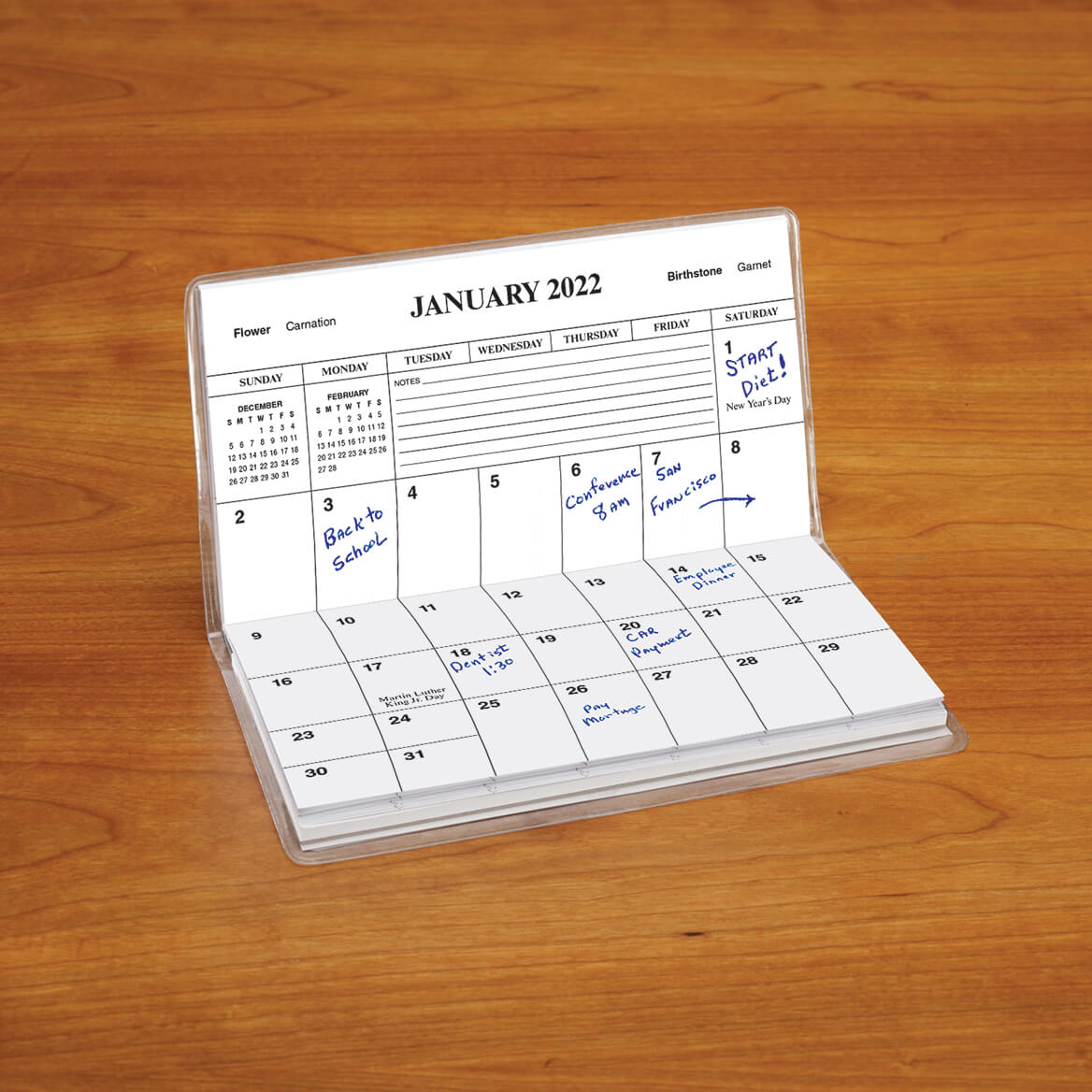 Personalized Cross 2 Year Pocket Planner-342174