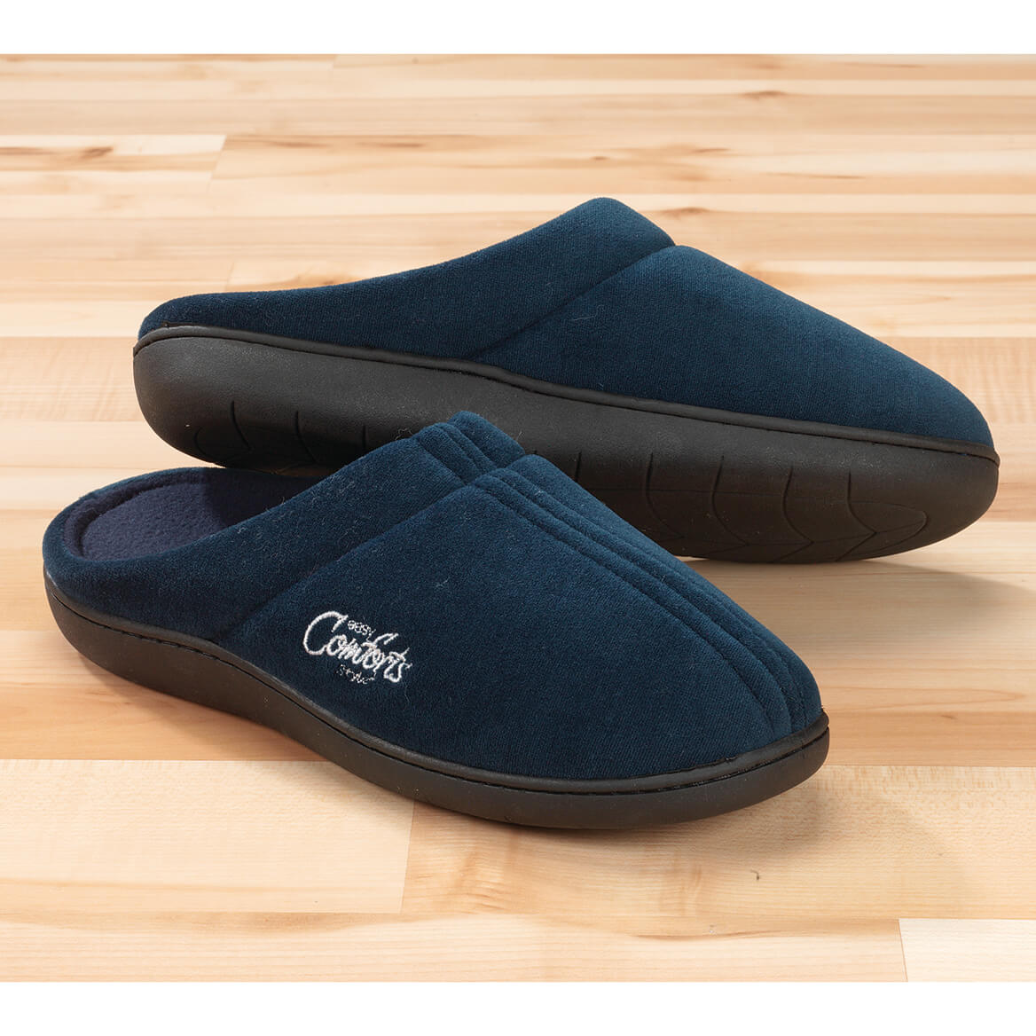 Easy Comforts Style™ Memory Foam Slippers-343708