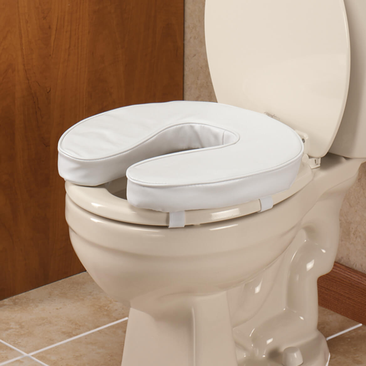 EZ Rise Cushioned Toilet Seat - Padded Toilet Seat - Miles Kimball