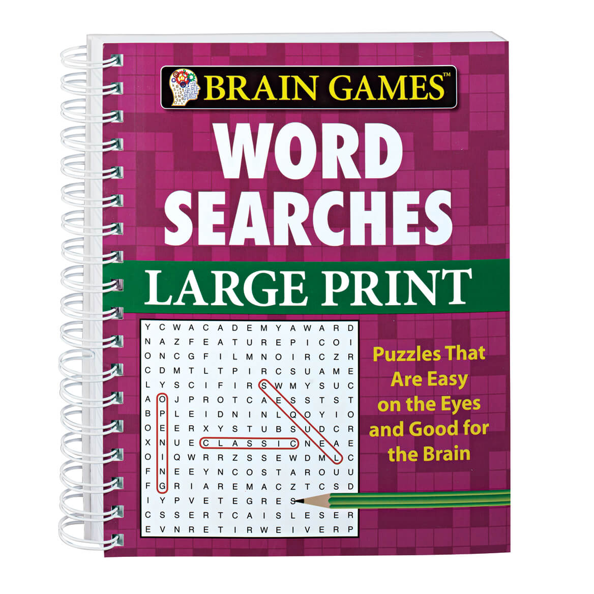 picture relating to Free Printable Extra Large Print Word Search identified as Puzzles Trivia - Miles Kimball