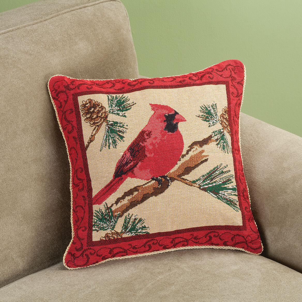 Cardinal Pillow Cover - Decorative Pillow Cover - Miles Kimball